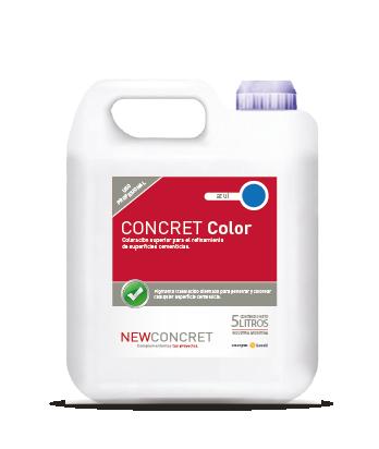 Concret Color 5 Litros | Coloración superior para el refinamiento de superficies cementicias.